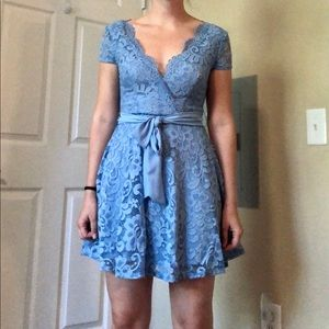 Semi-formal mini dress